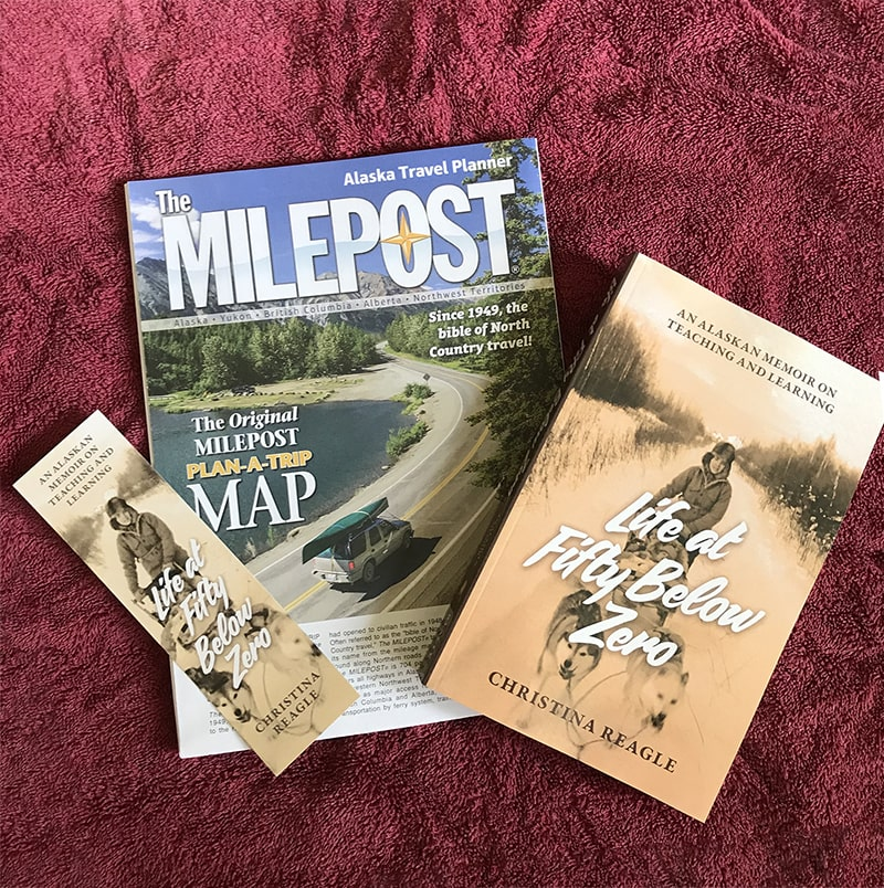 Life at Fifty Below Zero - Milepost Plan-A-Trip Map